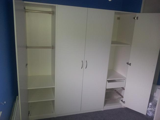 Pax Doors Ikea Pax Cabinets With Shaker Doors By & Pax Doors - Sanfranciscolife